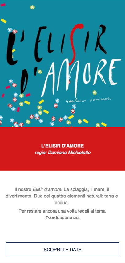 canvas facebook elisir d'amore