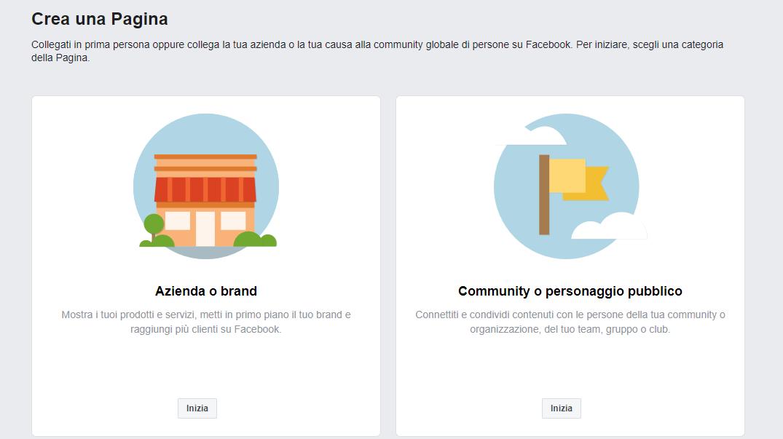 creare pagina facebook per associazione culturale