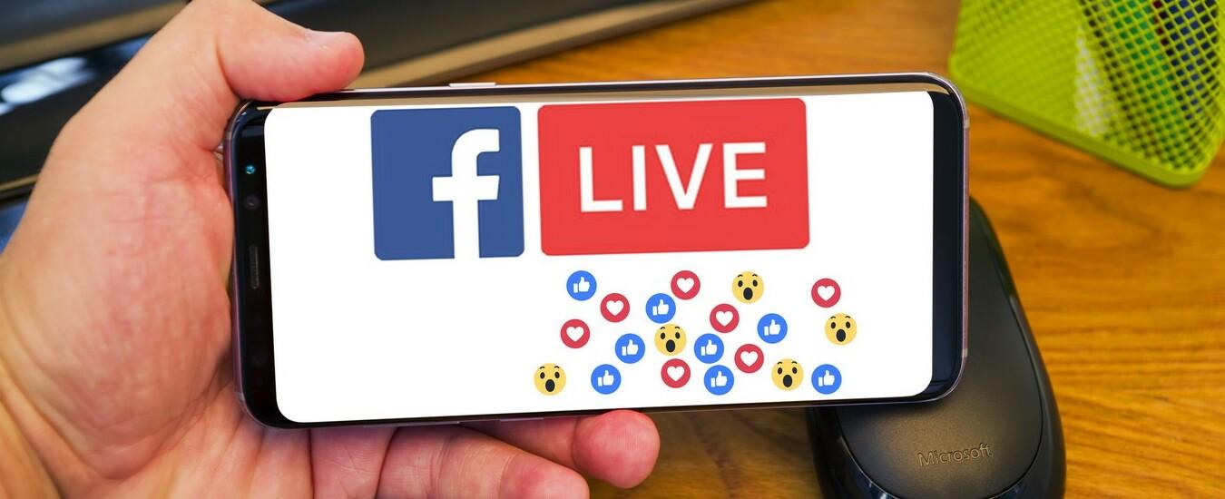 Facebook organizzazione eventi a pagamento